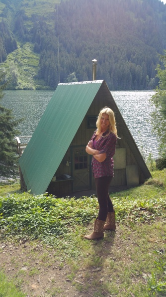The A frame guest cabin....for all of you vistors...;-)