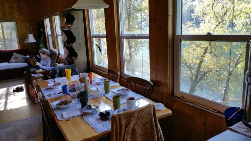 Dining and kitchen quarters