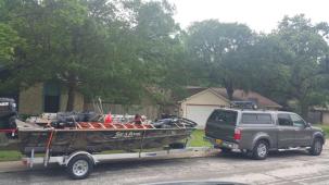 truck boat
