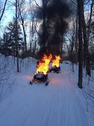 snow m fire